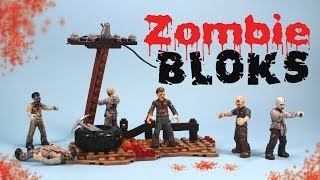 getlinkyoutube.com-Call of Duty Mega Bloks Zombie Horde Mini figures 06826