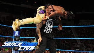 New Day vs. Usos - Winner chooses stipulation for Tag Title Rematch: SmackDown LIVE, Aug. 29, 2017
