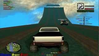 Let's Play Together GTA SA Fun Server #7 (German) (HD) - Big Big Water Jump