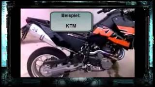 getlinkyoutube.com-Auspuff Honda Dominator