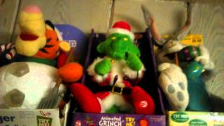 getlinkyoutube.com-Gemmy singing and talking grinch