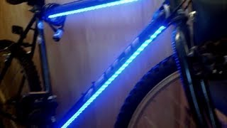 getlinkyoutube.com-Bicycle LED lights installed SIMPLE & CHEAP