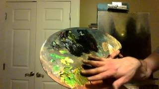 getlinkyoutube.com-Oil Painting Tutorial by Ryan Herrin - Paintings By Night