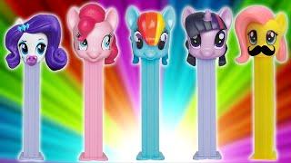 getlinkyoutube.com-My Little Pony Finger Family Song ★ MLP PEZ Dispenser Daddy Finger ★ Father Finger Where Are You