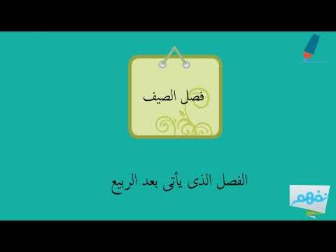 Nafham - نفهم:الفصول الأربعة | العلوم | الأول الإبتدائي | الترم الثاني | المنهج السعودي | نفهم