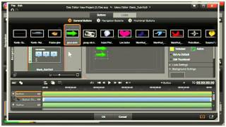 getlinkyoutube.com-Pinnacle Studio 16, 17 --  How to Make a Menu for a DVD