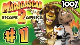 getlinkyoutube.com-Madagascar Escape 2 Africa Walkthrough Part 1 (X360, PS3, PS2, Wii) 100% Level 1 - In Madagascar -