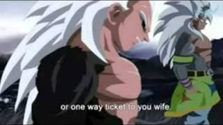 getlinkyoutube.com-Dragon Ball AF   Goku and Vegeta attack as Super Saiyan 5 Eng voice over