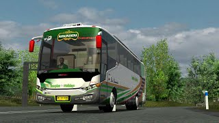 getlinkyoutube.com-UKTS Scorpion Holiday SCH 721 ''NARASHANSHA'' Bus Parawanita