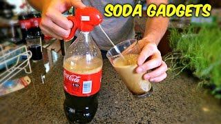 getlinkyoutube.com-6 Soda Gadgets Put to the Test