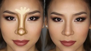 getlinkyoutube.com-How to Contour & Highlight Your Nose in Less Than 5 minutes!