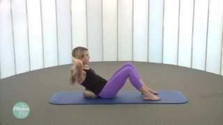 Stability Ball Abdominal Workout