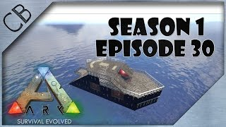 getlinkyoutube.com-ARK: Survival Evolved - Amazing Raft v2.0! - S1Ep30