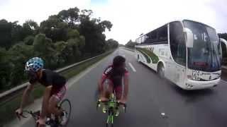 getlinkyoutube.com-Bike Draft - 124 km/h