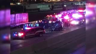 Choque en Kansas City, KS dejó como saldo dos conductores muertos