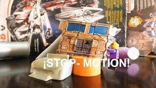 getlinkyoutube.com-Transformers Age of extinction Stop motion Cade find Optimus