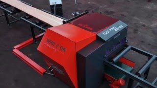 getlinkyoutube.com-MULTIBLADE CIRCULAR SAW  and BOARD EDGER