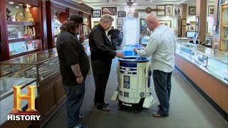 getlinkyoutube.com-Pawn Stars: Star Wars Vault: R2D2 Cooler | History