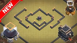 getlinkyoutube.com-Th9 Dark Elixir Farming/Hybrid Base (feat. Deadly Hamlets) - The DE Protector | Clash Of Clans (CoC)