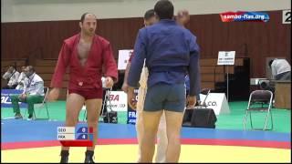 getlinkyoutube.com-Чемпионат мира по самбо 2014. Нарита.90 кг болевой на руку