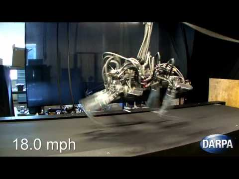 DARPA - Cheetah Robot Achieved 28.3 mph (45.5 km/h) Speed Record [720p]