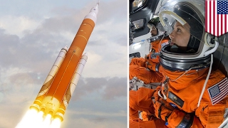 getlinkyoutube.com-Space Race: NASA considers launching astronauts on first SLS, Orion mission to space - TomoNews