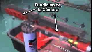 Lubricacion Cunmis ISX Motor Rojo