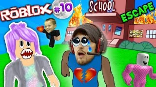 getlinkyoutube.com-CHASE STOLE MY BEST FRIEND! Roblox #10: ESCAPE from SCHOOL OBBY! (FGTEEV Weird Roleplay)