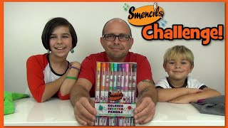 getlinkyoutube.com-Challenge! - Smencils Colored Pencils- Tag By WookieWarrior23