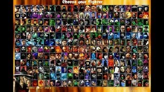getlinkyoutube.com-Mortal Kombat Chaotic (MUGEN) - Playthrough 1/2