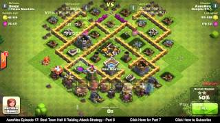 getlinkyoutube.com-BEST Town Hall Level 6 (TH6) Raiding Attack Strategy (Giants & Healers) Clash of Clans - Part 6