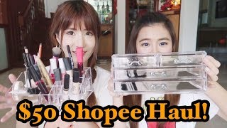 Another $50 Shopee Shopping Challenge?!