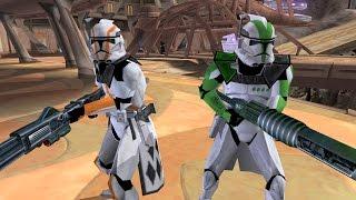 getlinkyoutube.com-Star Wars Battlefront 2 Mods - Skin Changer Mod v0.5 Beta - Utapau Gameplay