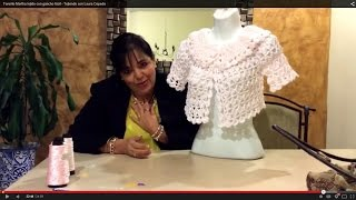 getlinkyoutube.com-Torerito Martha - Gancho Fácil - Tejiendo con Laura Cepeda