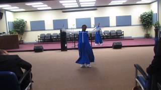 Yes Praise Dance - Ashley and Amaya- Word of God Ministries