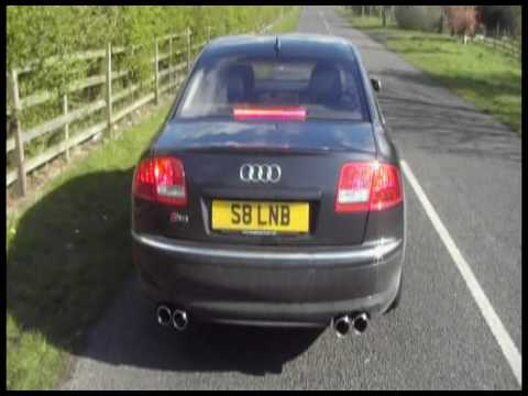 Audi S8 V10. This Audi S8 V10 (based on the