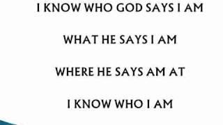 Sinach 'I Know Who I Am ' Lyrics