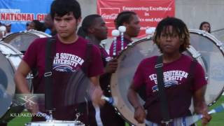 getlinkyoutube.com-Alcorn State vs Texas Southern University - Percussion Battle (Field) - 2016