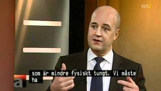 getlinkyoutube.com-100 åringar är ett problem för Psykopat Reinfeldt.
