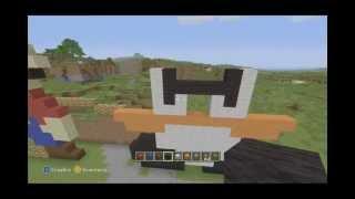 getlinkyoutube.com-Minecraft XBOX 360: Como Hacer un Goomba (Mario Bros) 8-Bits