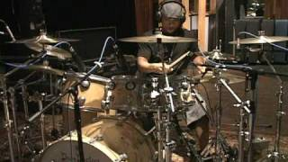 getlinkyoutube.com-Tony Royster Jr. Jay-Z's drummer live in the studio