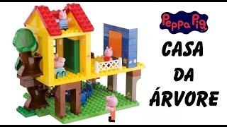 getlinkyoutube.com-A Casa na Árvore da Peppa Pig Lego blocos de construção em Portugues BR -  La Casa del Arbol bloques
