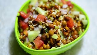getlinkyoutube.com-Moong Sprouts Salad Indian Breakfast Recipes @ Guru's Cooking