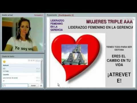 Mujeres Triple AAA: Liderazgo Femenino en la Gerencia (La conferencia web)
