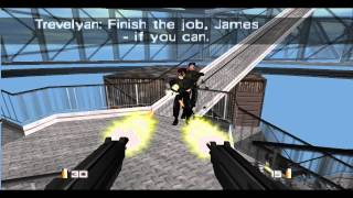 getlinkyoutube.com-Let's Play Goldeneye 007 - N64 Emulator - On PC in 720p - Mission 18 - Antenna Cradle