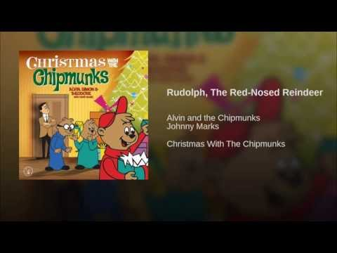 Rudolph The Red Nosed Reindeer de The Chipmunks Letra y Video