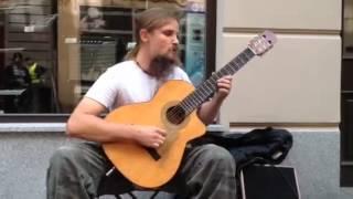 getlinkyoutube.com-Amazing guitarist !!! from Poland(in Katowice) Mariusz Goli