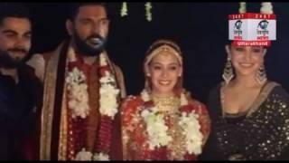 युवराज सिंह-हेजल कीच की शादी में साथ में थिरके अनुष्का और विराट कोहली