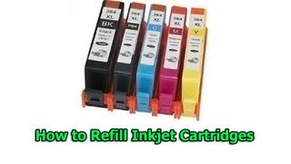 getlinkyoutube.com-How to Refill Inkjet Cartridges