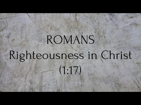 New Testament Survey - Romans pt. 2